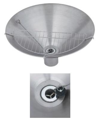 ユニソンウォーターポットフィーノポット φ450サイズ:φ450×高さ150(230)mm重 量:2.0kg 付属品:ゴム栓※水切り網メーカー直送のため代引決済はできません。