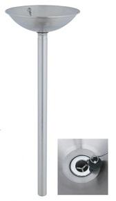 ユニソンウォーターポットライアンポットサイズ:φ350×高さ820(1,120)mm重 量:3.0kg付属品:ゴム栓メーカー直送のため代引決済はできません。