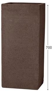 ユニソンプランタートリコ 913 L サイズ:幅330×高さ700×奥行330mm(内寸 □275mm)重 量:31.0kg 土容量:57Lメーカー直送のため代引決済はできません