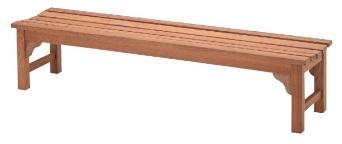 ユニソンジャティ フラットベンチ 1800 材 質:チーク(無塗装仕上げ)サイズ:幅約1,800×高さ約390×奥行約430mm重 量:約21.2kgメーカー直送のため代引決済はできません