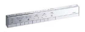TOTO 【TCA333/334/335/336】 ネオレスト用スティックリモコン乾電池タイプリモコンサイズ:290×22×43アルミ+樹脂製受注生産品