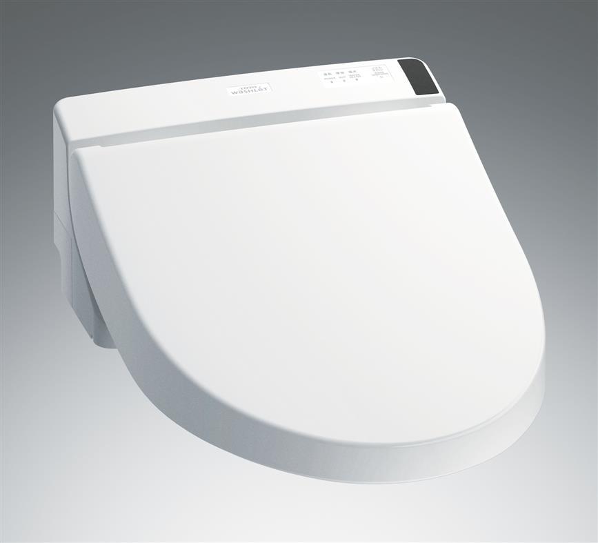 TOTOTCF5012R ホテル向ウォシュレットHX1 エロンゲートサイズ・レギュラーサイズ兼用AC100V直結タイプ