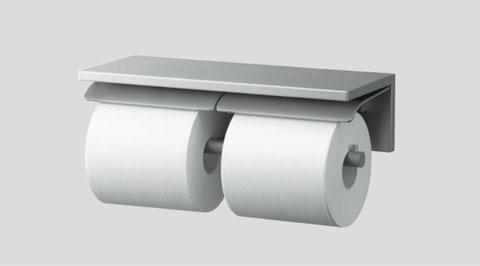 TOTO 棚付二連紙巻器YH700AD