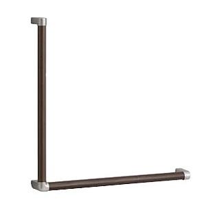 TOTOYHB603L木製手すりL型サイズ:628×72×628R/L兼用