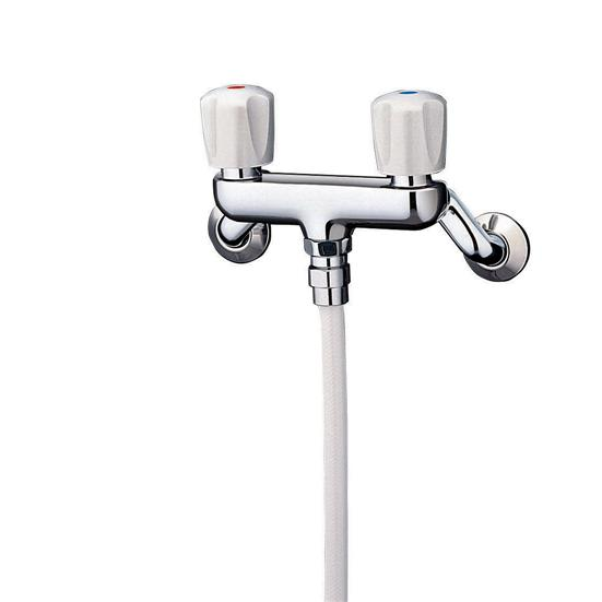 TOTO 2ハンドルシャワースプレー(節水)シャワースパウト(吐水口)なしTMS24C