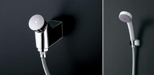 TOTOオートストップシャワーエアイン樹脂シャワー(クリックなし)TMF19E1R