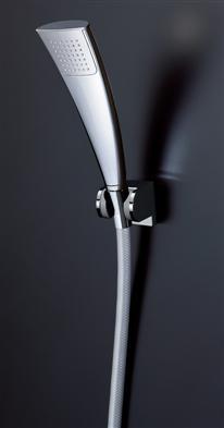 TOTO壁付サーモスタット混合水栓用【TBW02009J】エアインメッキメタル調樹脂ホース1800ミリ角度調整式シャワーハンガー2個付属シャワーヘッドホース・ハンガーセットのみ