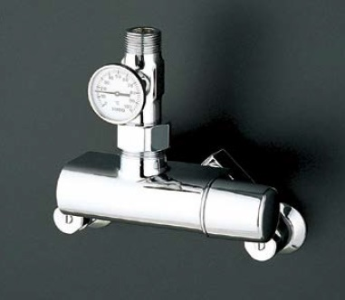 TOTOTTM440BX20壁付サーモスタット混合水栓(露出配管形)20ミリ用
