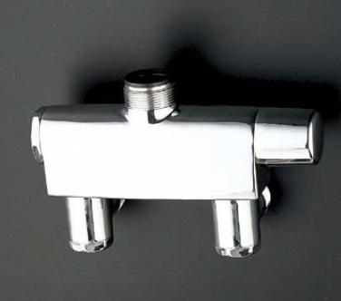 TOTOTTM441-25壁付サーモスタット混合水栓(既設取り替え用)25ミリ用