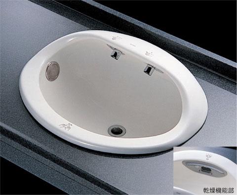 TOTOオートボウル(自動洗面器)セルフリミング式TYL100Tカラーはホワイトのみ(NW1)
