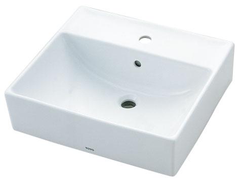 TOTOベッセル式洗面器水栓取付穴タイプ'Dタイプ'L710C洗面器のみの販売になります