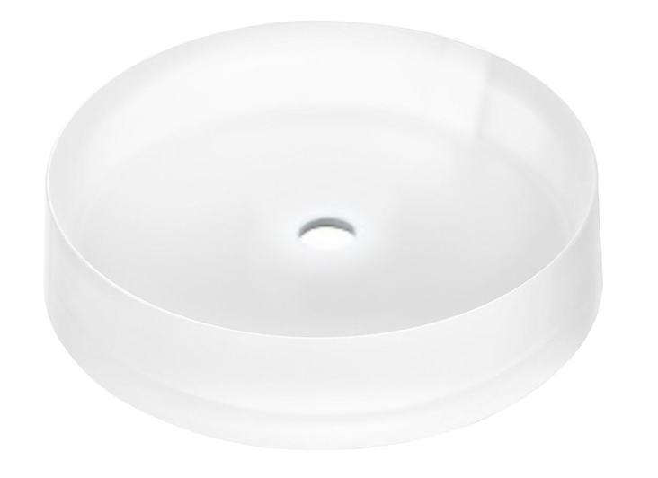 TOTOベッセル式クリスタルボウル洗面器水栓取付穴タイプ'Mタイプ'MR700CB11受注生産品:納期1週間洗面器のみの販売になります