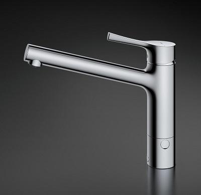 2019年4月発売TOTOTKS05309J1穴キッチン水栓GGシリーズ一般地用分岐口付