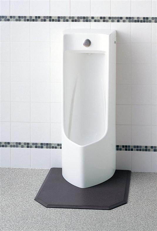 【送料無料】TOTOプッシュボタン小便器床置式・中型・塩ビ排水管用排水ソケット付UFJ300CVR