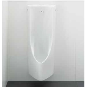 TOTOUFS900JS自動洗浄小便器 きれい除菌水搭載 掃除口なし 新尿石抑制・節水システム低リップ・塩ビ排水管用・AC100Vタイプ新設タイプ(排水芯225MM)