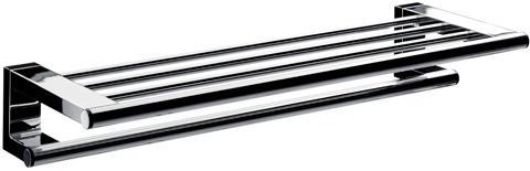 セラトレーディングEMCO(エムコ)SYSTEM 02タオルラック・バー付(650mm) クロムメッキ仕上げEC3568R 浴室利用可