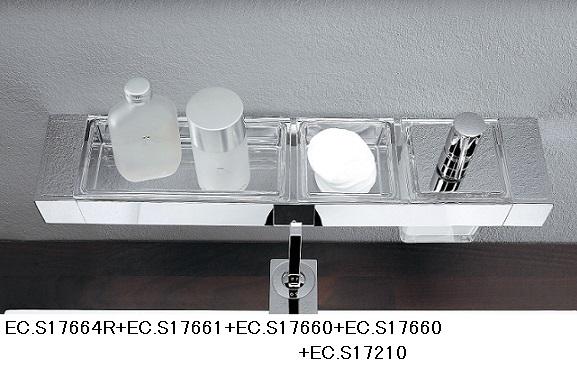 289485060e67 エムコ LIAISON タオルバー兼用オプションホルダー クロムEC.S17664R(476ミリ)浴室設置可 リエゾンEMCO-トイレットペーパー -  grupogpa.com.br