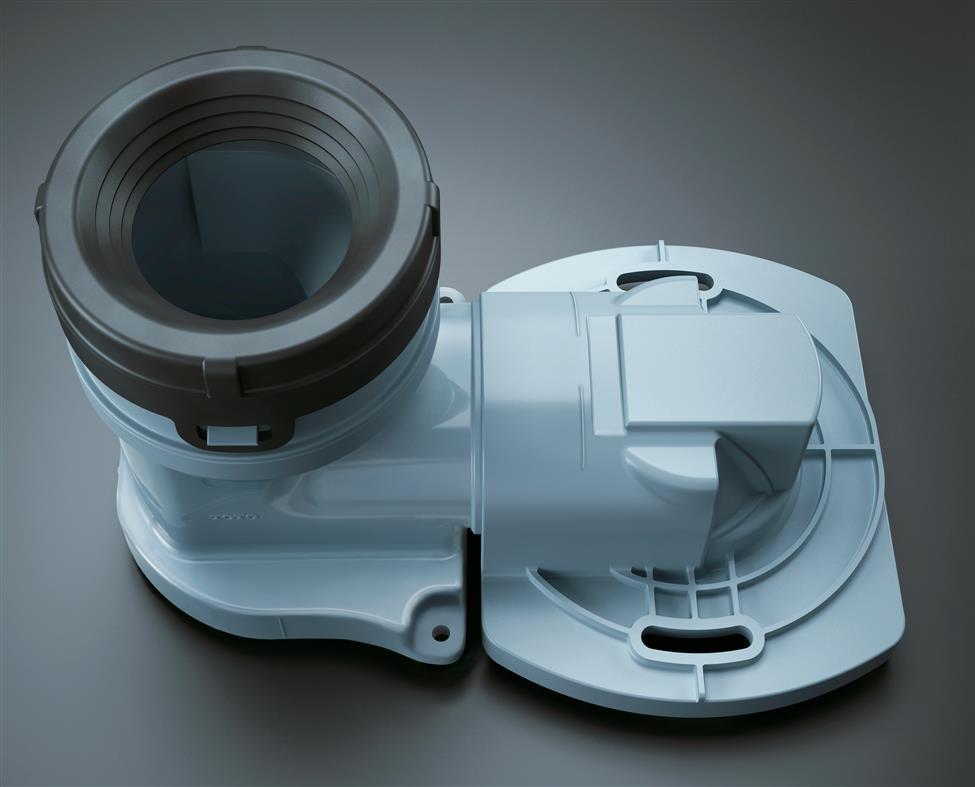 TOTOトイレまわり取り替えパーツHH02072Rパブリックコンパクト便器・フラッシュバルブ式(床排水)用排水ソケット