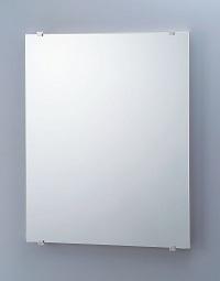 LIXIL アルミ枠付デザインミラー(防錆) 寸法:500×35×657(鏡500×5×640)材質:〈固定金具〉ステンレス〈化粧カバー〉ABS樹脂(表面:Ni-Crメッキ)〈裏板〉木質材料(表面:ポリエステル樹脂)KF-5064D