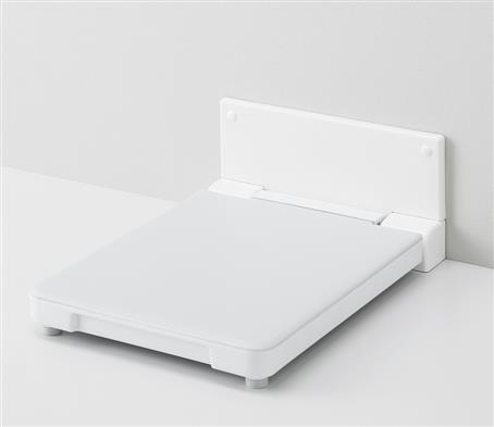 TOTOフィッティングボード【YKA41】400×87(使用時560)×560樹脂製カラーホワイト使用上限重量:100キロまで壁固定タッピングねじ3本同梱