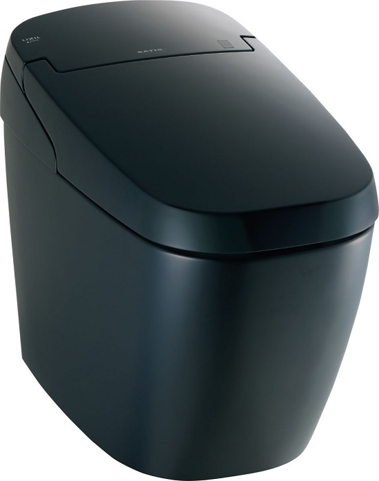 LIXIL サティスGタイプECO5床上排水芯120ミリ(Pトラップ)YBC-G20PBKG(便器部)DV-G216PBKG(機能部)カラー:BKG(ノーブルブラック)グレード:G6リモコンカラー:ブラック