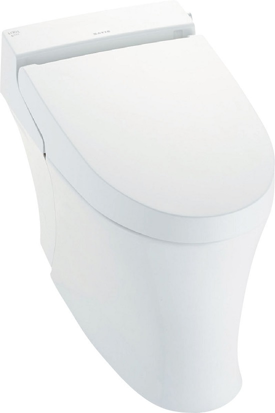 LIXIL サティスSタイプECO5リトイレ床排水芯411~490ミリ(Sトラップ)YBC-S30H(便器部)DV-S716H(機能部)低流動圧対応ブースター無しグレード:SR6リモコンカラー:ホワイト