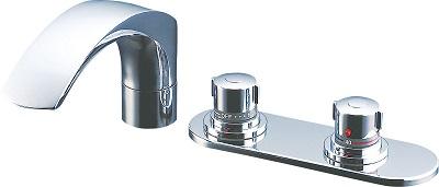 LIXIL サーモスタットバス水栓定量止水仕様300Lまで調節可能BF-X195TL/TR取寄商品(返品不可)左の画像はBF-X195TL