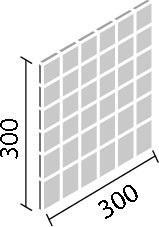 内装壁用デザインクラフト デントキューブ50mm角ネット張り(フラット面)目地共寸法:300×300厚さ:10.0あたり枚:11.2シート/平米重量:10シート/ケース15kgDCF‐50NET/DNC‐1~DNC‐2 (代引き不可商品)