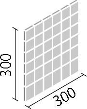 内装壁用デザインクラフト ミロケイブ50mm角ネット張り目地共寸法:300×300厚さ:10.0あたり枚:11.2シート/平米重量:12シート/ケース17kgDCF‐50NET/MRV‐1~MRV‐5(代引き不可商品)