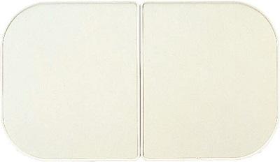LIXIL風呂フタYFK-1280B(2)枚数:2枚寸法:750×590カラー:ホワイト画像:YFK1475B(4)参考画像です、上の図面でご確認ください。