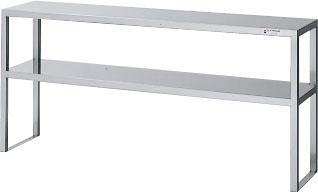 LIXILステンレス上棚【H-183】奥行:35センチ間口:180センチ高さ:70センチメーカー4トン車直送代引決済不可画像は【H-153】
