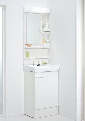LIXILオフト洗面化粧台セットゴム栓式間口500ミリ選択項目の組合せにより価格が変わります価格及び画像はFTVN-500/VP1W(2ハンドル混合水栓)MFK-501S(LED照明・鏡は曇止コートなし)メーカー直送のため代引決済はできません。