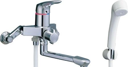 LIXILBF-7135Sシングルレバーシャワーバス水栓吐水口長さ170ミリ