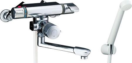 LIXILBF-7140TSDサーモスタット付シャワーバス水栓エコフルスプレーシャワー吐水口長さ170ミリ