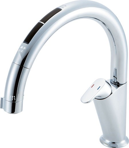 LIXILJF-NA466SU(JW)キッチン用タッチレス水栓吐水口長さ239ミリ吐水口高さ 155ミリ