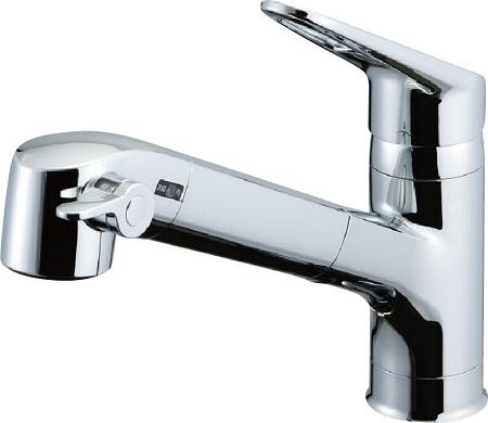 LIXILJF-AB466SYX浄水器内蔵シングルレバー混合水栓呼び径13ミリ水栓取付穴φ37吐水口長さ244ミリ