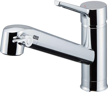 LIXILJF-AF442SYX浄水器内蔵シングルレバー混合水栓呼び径13ミリ水栓取付穴φ37吐水口長さ244ミリ
