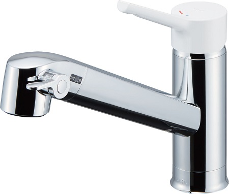 LIXILJF-AG442SYX浄水器内蔵シングルレバー混合水栓呼び径13ミリ水栓取付穴φ37吐水口長さ244ミリ