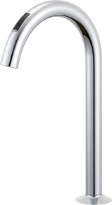LIXILJF-ND701浄水器専用水栓(ビルトイン型)吐水口長さ142ミリ呼び径13ミリ水栓取付穴φ37付属品/ 浄水カートリッジ(JF-45N)