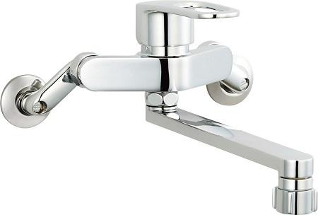 LIXILSF-WM432SYキッチンシャワー付シングルレバー混合水栓吐水口長さ220ミリ