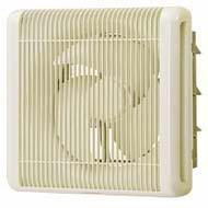 三菱電機業務用換気扇(電動シャッター付)格子タイプ電源:単相100V排気専用羽根径20センチEFG-20KSBW/C