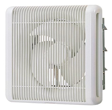 三菱電機業務用換気扇(電動シャッター付)格子タイプ電源:単相100V排気専用羽根径30センチEFG-30KSBW/C