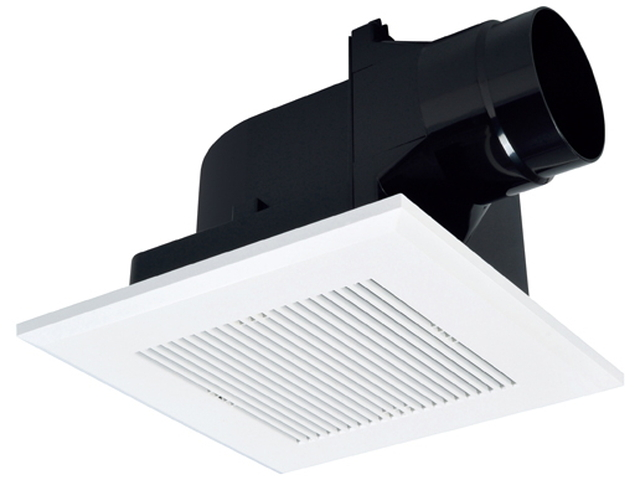 Mitsubishi Electric ceiling embedded embedded duct ventilation fan wind  shutters bath, toilet and lavatory Interior lattice type VD-13ZC10-C