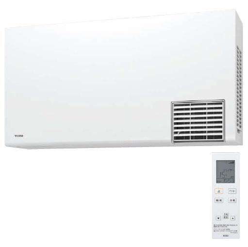 TOTO【TYR1024BD】200V洗面所用暖房機電源直結式・予備運転機能付ワイヤレスリモコン(無線・赤外線式)