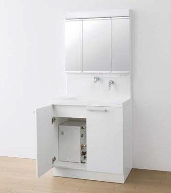 TOTO電気温水器付き洗面化粧台間口750ミリ価格及び画像はLDRC075BAGEN1A(オクターブ/エアインシャワー・ホワイト)LMRC075A3GAC1G(オクターブ/三面鏡)RESK12A2(電気温水器)メーカー直送のため代引決済はできません。