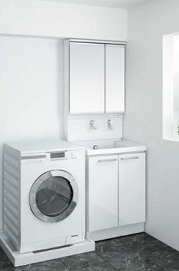 TOTOリモデル洗面化粧台間口600ミリ価格及び画像はLDSWB060BAGEN1F(サクア/エアインスィング)LMWB060B2GLC2G(サクア/2面鏡)メーカー直送のため代引決済はできません
