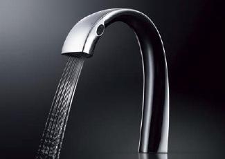 TOTOTLP01S01J台付自動水栓(AC100Vタイプ)サーモスパウト148ミリ構成品:TLP01701J+TLP01702J