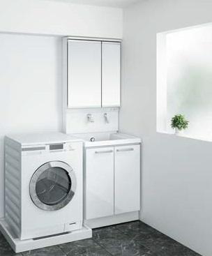 TOTOサクア間口600ミリ価格及び画像はLDSWB060BAGEN1F(洗面化粧台)LMWB060B2GLC2G (二面鏡・ワイドLED照明・エコミラー・高さ1800対応)水栓:エアインスウィング水栓化粧台カラー:オプティホワイトメーカー直送のため代引決済不可