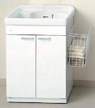 TOTOLAA604SA間口600ミリ洗濯流しユニット600×500×840実容量:24L洗濯かご付きメーカー直送のため代引決済はできません
