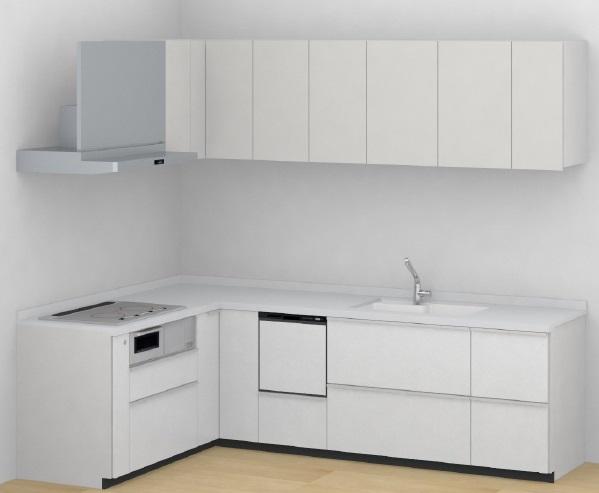 TOTOミッテシステムキッチンL型間口:1800×2700ミリ材のみ価格メーカー直送材のみ